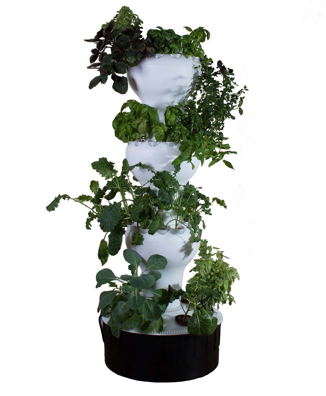 Hydroponics tower for plants