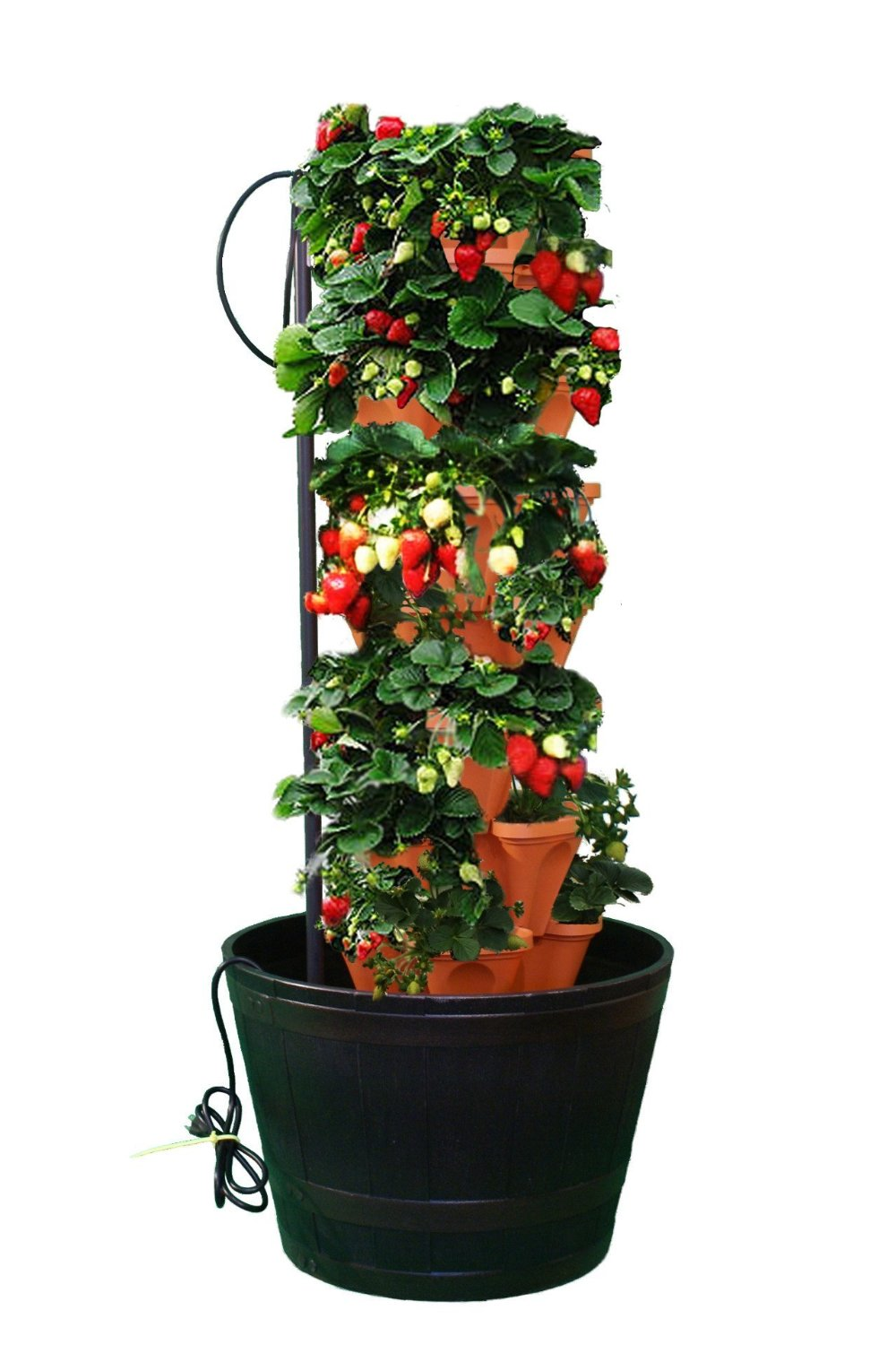 vertical tower for hydroponics