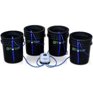 Bubbler Bucket Kit by PowerGrow Systems Deep Water Culture hydroponics reviews
