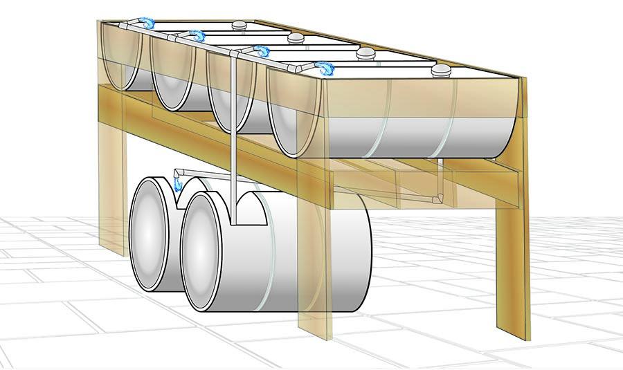 Aquaponics Plan Ebb and Flow