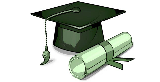 Aquaponics Scholarship cap and diploma